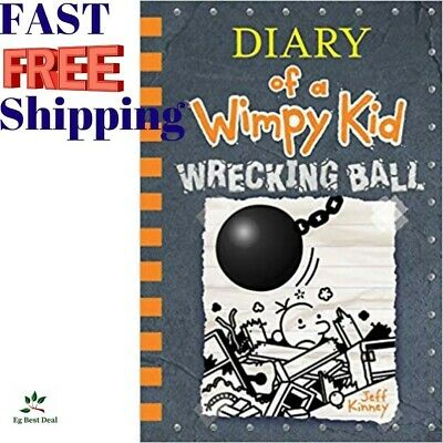 Wrecking Ball Diary Of A Wimpy Kid Collection Book 14 Jeff Kinney 2019 Hardcover