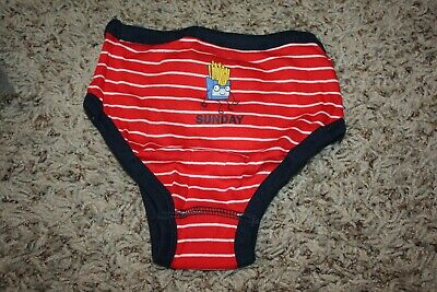NWT Gap Kids Boys Days of the Week Briefs Size XS (4/5) 7 PAIRS