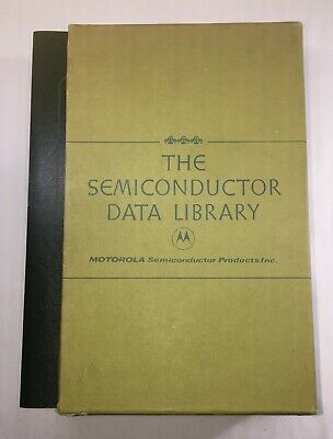 Motorola The Semiconductor Data Library Vol 1-2 And Reference Volume, 1st Ed.