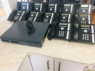 Avaya IP500 V2 Control Unit with 12x 1416 Handsets - IP Office Phone System