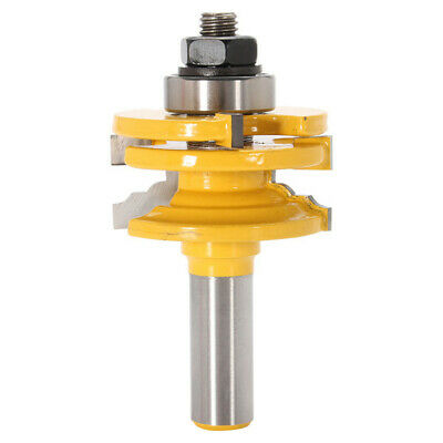 1/2 Inch Shank Slot Router Wood Milling Cutter Tongue Groove Router Bit