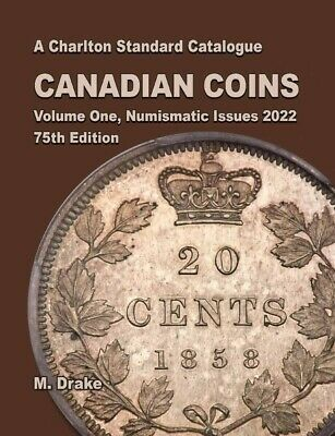 New 2020 Charlton Catalog Canada Canadian Coins Vol 1 Numismatic Issues 73nd New