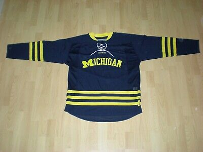 University of Michigan Eishockey Trikot