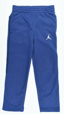 NIKE AIR JORDAN Boys' Kids' THERMA-FIT Joggers, Blue, sizes 3 to 7 years