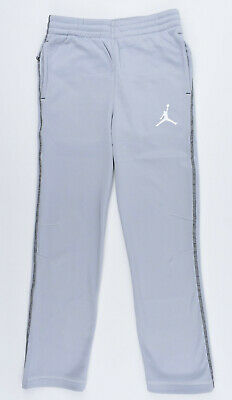 NIKE AIR JORDAN Boys' Kids' THERMA-FIT Joggers, Wolf Grey, sizes 8 10 12 years