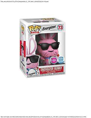 FUNKO POP! Ad Icons Energizer Bunny - Flocked Figure - Funko Shop Exclusive NEW