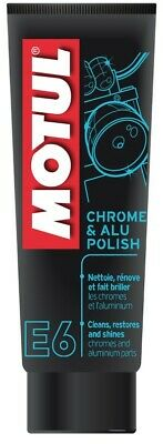 Motul E6 Chrome & Aluminium Polish (100ml)