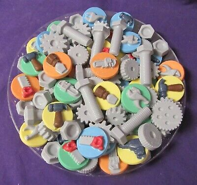 Tools and Gears chocolates tray