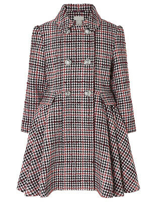 Girls Monsoon NEW Multi Tweed Party Dress Winter Jacket Coat Age 7 to 12 YRS