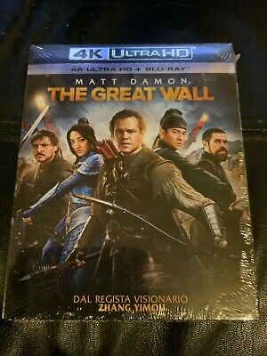 The Great Wall 4K UHD[2017] - Brand new and sealed Italian import