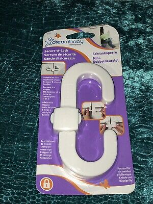 DreamBaby Secure-A-Lock Child Baby Safety Security Cupboard Lock 1pk