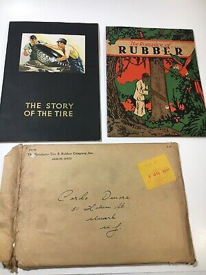 Goodyear Tires 1934 Mail Out Book And Brochure Package The Story Of The Tire +