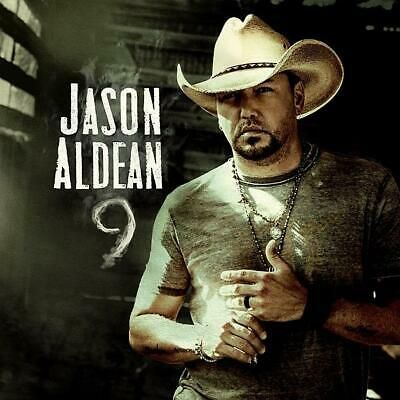 Jason Aldean, 9 [New CD Album, 2019] + Free Shipping (PREORDER 11/22)