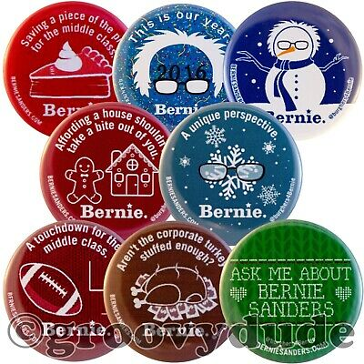 8 Pittsburgh For Bernie Sanders President 2016 Official Pin Pinback Button Lot