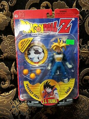 Dragon Ball Z Perfect Cell Saga Irwin Toys S.S. Trunks Action open Package