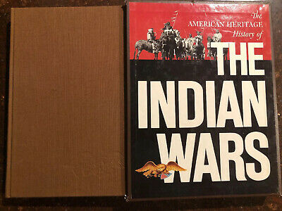 """""""THE AMERICAN HERITAGE HISTORY OF THE INDIAN WARS""""  Boxed edition"""