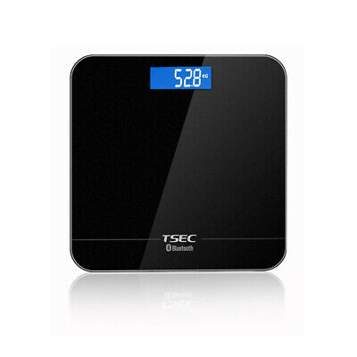 Digital Body Fat Scale Bathroom Weight Gym Glass Water LCD Electronic
