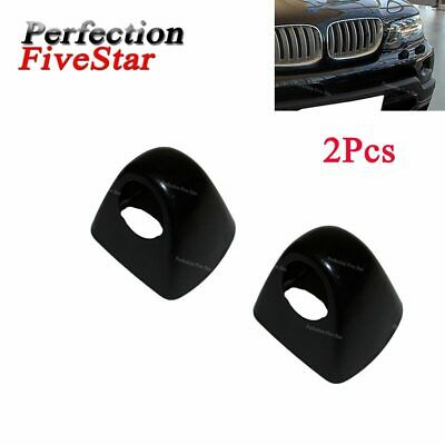 X2 Front Left Side Headlight Head Light Lamp Washer Cover Cap Random Color For X