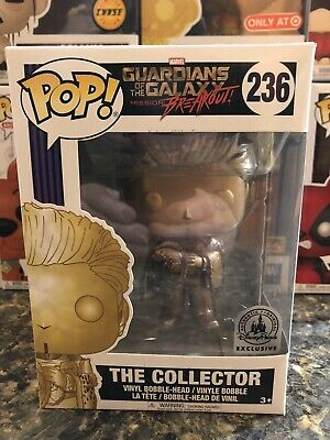 Guardians of The Galaxy THE COLLECTOR Disney Parks Exclusive Funko Pop