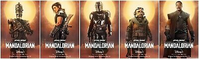 The Mandalorian TV Poster Print Decor 18x12 36x24 40x27""