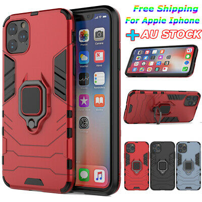For iPhone XR XS Max 11 Pro Tough Armor Shockproof Hard Case KickStand Cover