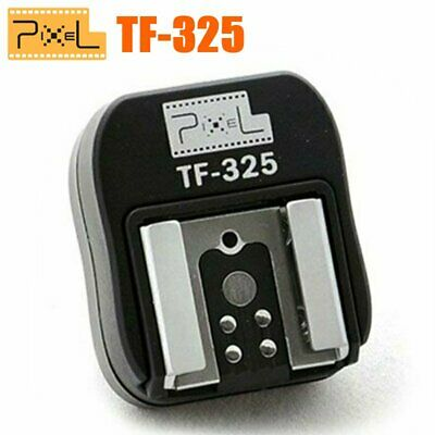 Pixel TF-325 Sony TTL Flash Hot Shoe Converter to PC Sync Socket Adapter Black