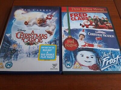 4 Christmas  Classics On Dvd Classics☆☆☆ Dvd ☆☆☆Lampoons Christmas Vacation Etc