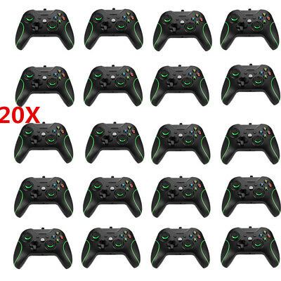 20PCS USB Wired Game Controller+Wireless Controller Keyboard For XBOX One &  PC