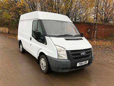 2011 61 Ford Transit 85 t260 fwd swb high roof 1 owner from new