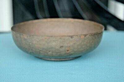 Benedict Studio Hammered Copper Arts&Crafts Bowl Stickley Era East Syracuse NY