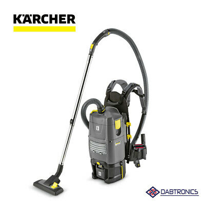 Karcher Bv 5/1 Bp Battery Operated Backpack Vacuum Cleaner