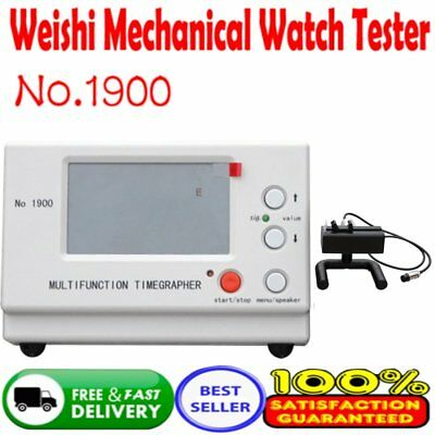 Timegrapher Watch Timing Machine Multifunction Tester CE I5