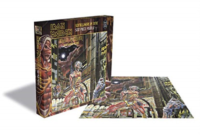 Iron Maiden-Somewhere In Time (500 Piece Jigsaw Puzzle) New