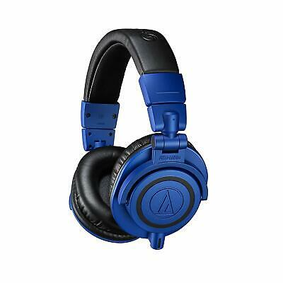 Audio Technica ATH-M50xBB Professional Studio Monitor Headphones - Blue