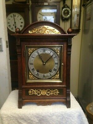 WINTERHALDER HOFFMEIER W & H Beautiful bracket ting tang clock not fusee