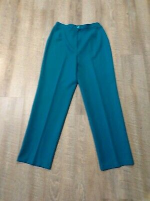 Teal Turquoise Solos by Koret Size 16 women's pants 367