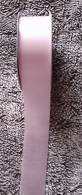 "2"" WIDEx12 metres BABY PINK FLORIST RIBBON floristry/weddings/crafts/presents"