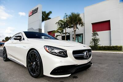 2017 Mercedes-Benz S-Class AMG S 63 2017 S 63 AMG - FULLY LOADED $207K+ MSRP NEW - ONE OWNER FL CAR