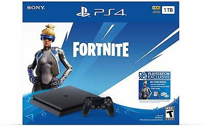 Brand New Sony PlayStation 4 Slim 1TB Fortnite Neo Versa Gaming Console Bundle