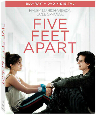 Five Feet Apart, Slipcover, Case And Dvd Only, Never Watched, Free Shipping