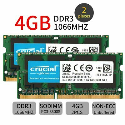 4GB DDR3 Laptop Memory for TOSHIBA Satellite C655D-S5084 C655D-S5085