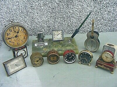 Vintage Clocks Big Ben, Oris, Travel Clocks Etc Job Lot