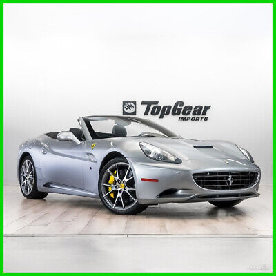 2012 Ferrari California  2012 Ferrari California with Clean Carfax and All Books