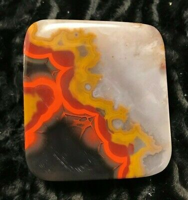 Kentucky Agate Cabachon  , Crystal Mineral Specimen #19029