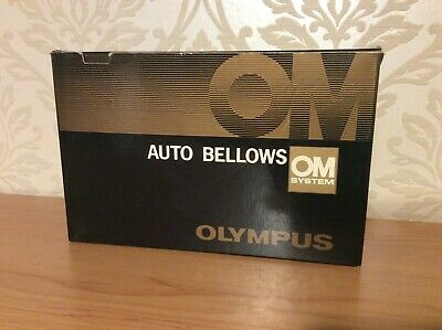 Olympus OM Auto Bellows with Original Olympus Double Release Cable - VGC