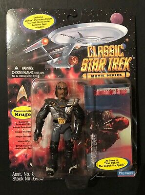 Star Trek III The Search For Spock - Klingon Commander Kruge Figure