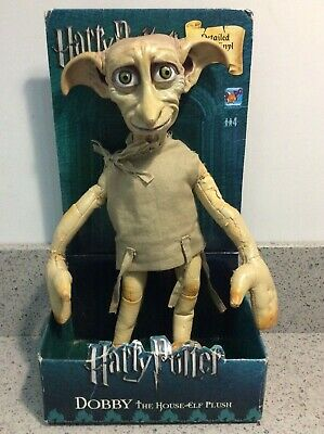 """Harry Potter DOBBY THE HOUSE-ELF PLUSH 12"""" DOLL by Popco, UK Exclusive, RARE"""