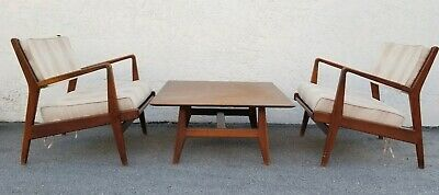 Jens Risom Chairs And Table