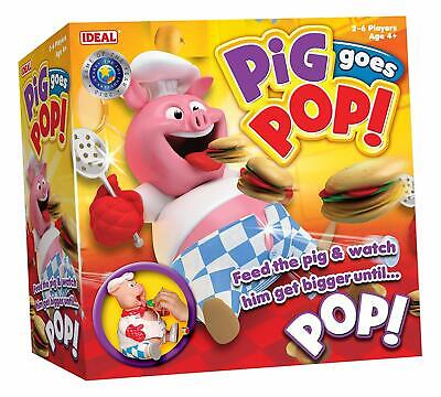 Pig Goes Pop! Game from Ideal (4+) - NEW