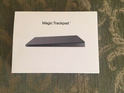 Box - Apple - Magic Trackpad 2 - EMPTY BOX & MANUAL - MJ2R2LL/A Space Gray